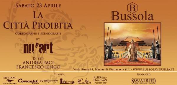 """BUSSOLAVERSILIA-PRESENTA:SABATO-23-APRILE-NU'ART-PRESENTA-""""LA-CITTA'-PROIBITA"""".jpg"""
